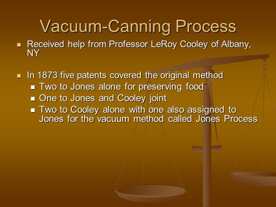 Vacuum-Canning Process
