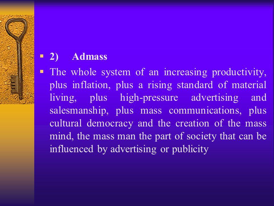 2) Admass
