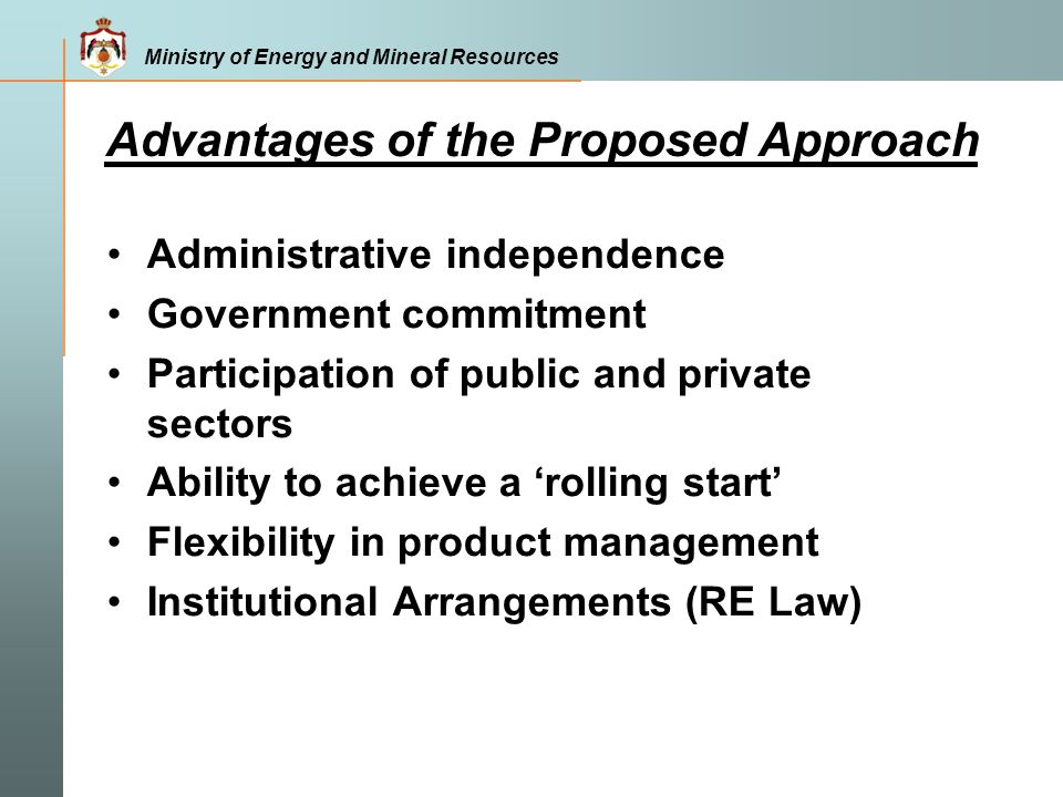 Advantages of the Proposed Approach