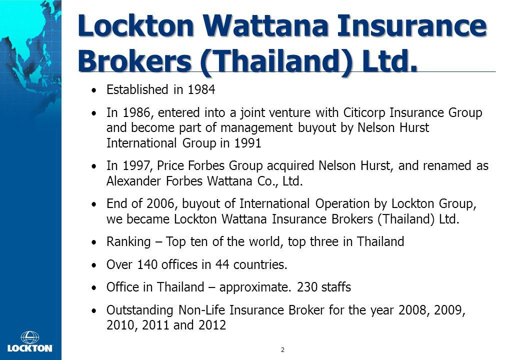 Lockton Wattana Insurance Brokers (Thailand) Ltd.