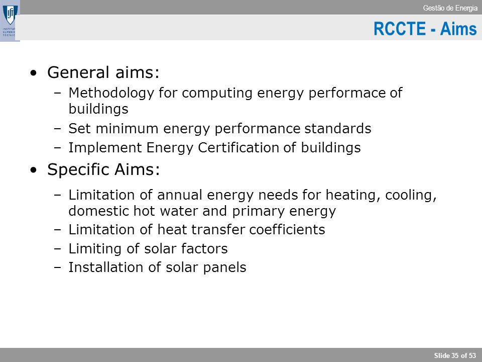 RCCTE - Aims General aims: Specific Aims: RCCTE – Aim