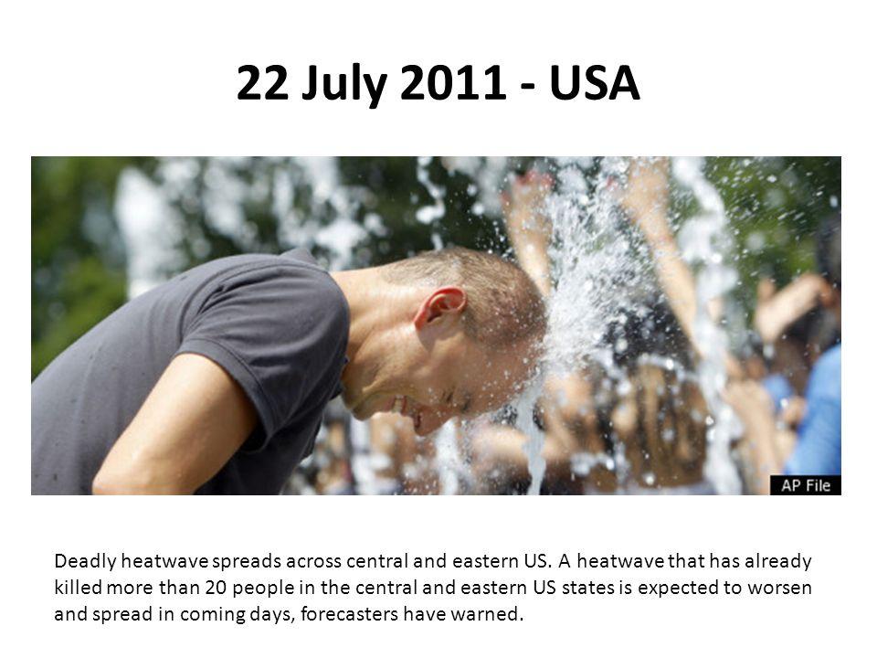 22 July 2011 - USA