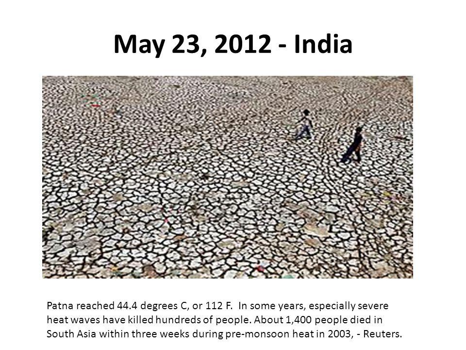 May 23, 2012 - India