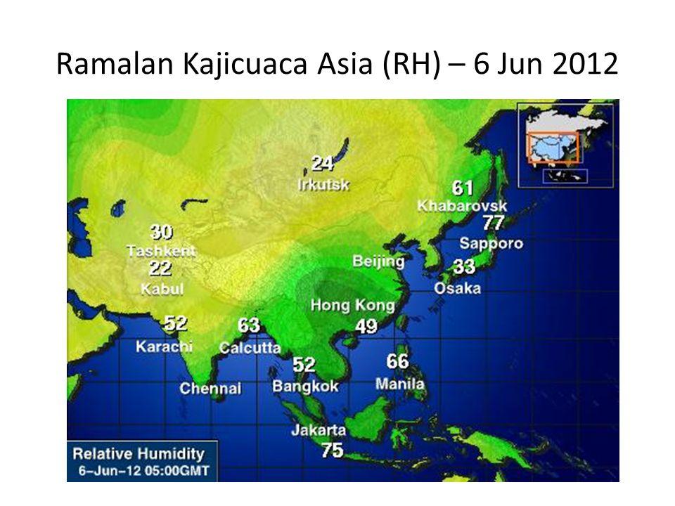 Ramalan Kajicuaca Asia (RH) – 6 Jun 2012
