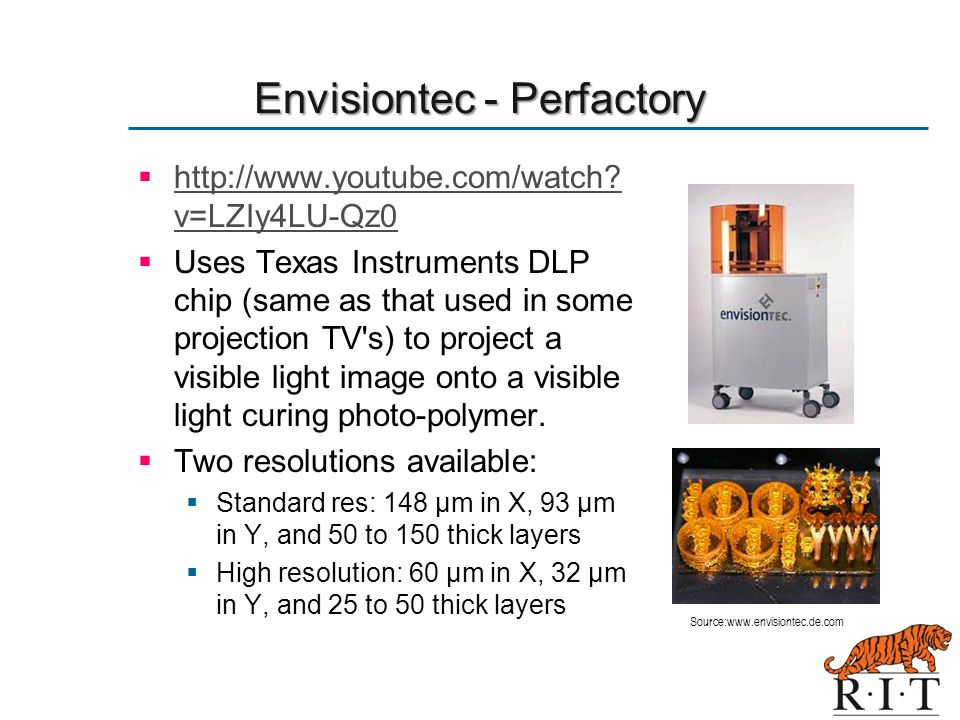 Envisiontec - Perfactory