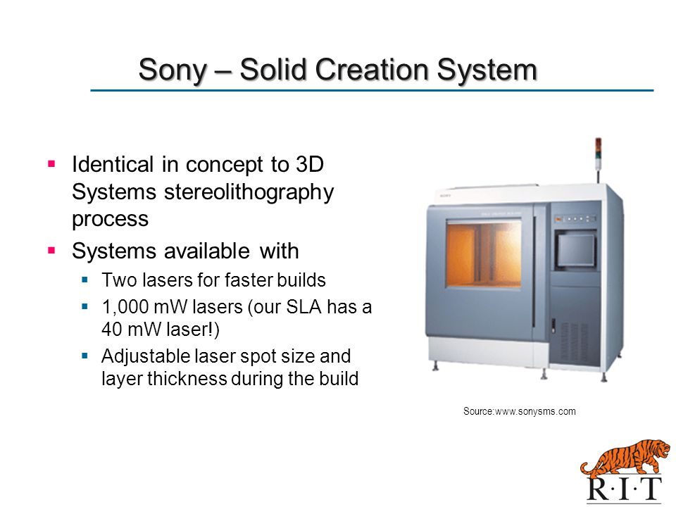 Sony – Solid Creation System