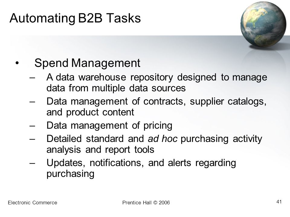 Automating B2B Tasks Spend Management