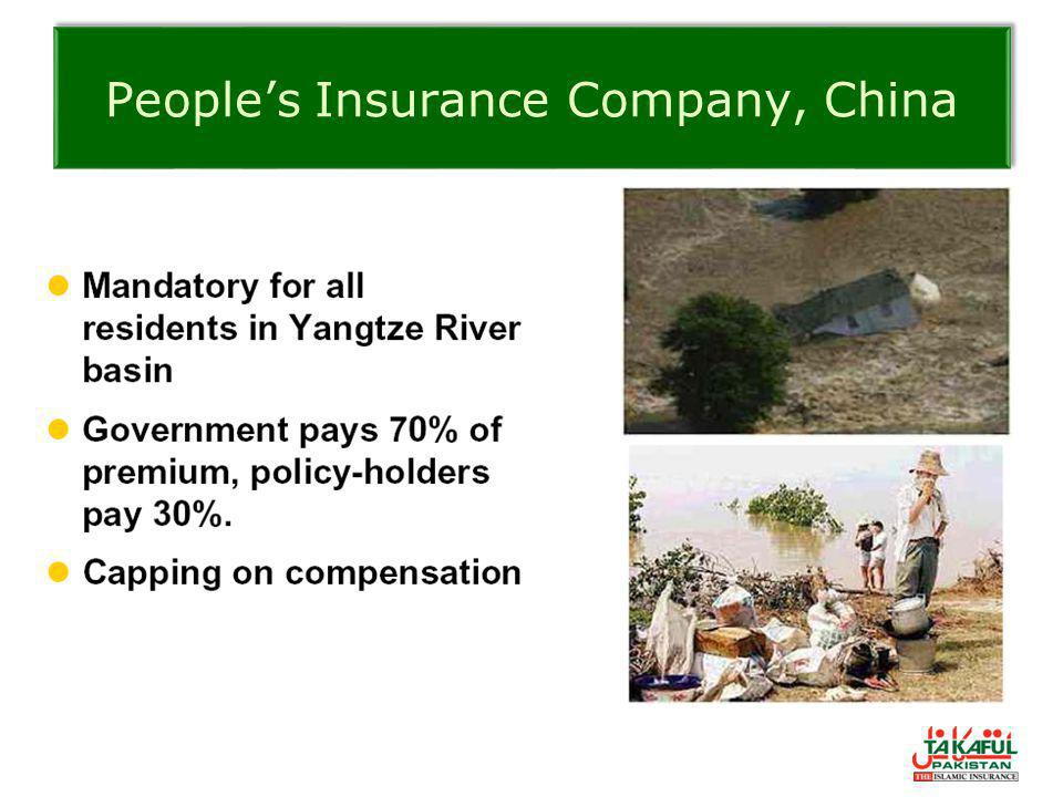 People's Insurance Company, China
