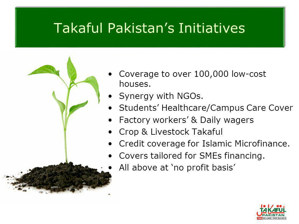 Takaful Pakistan's Initiatives
