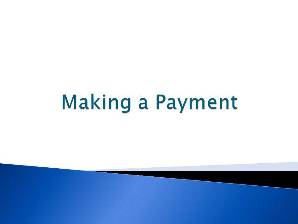 Making a Payment