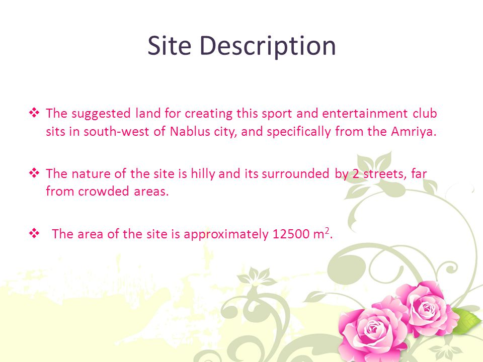 Site Description