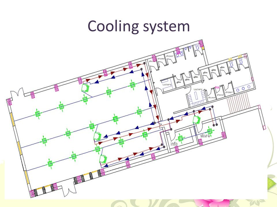 Cooling system .