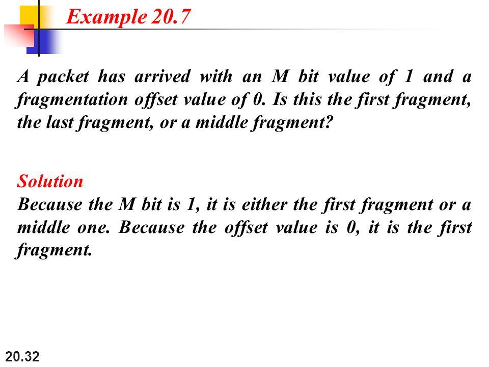 Example 20.7