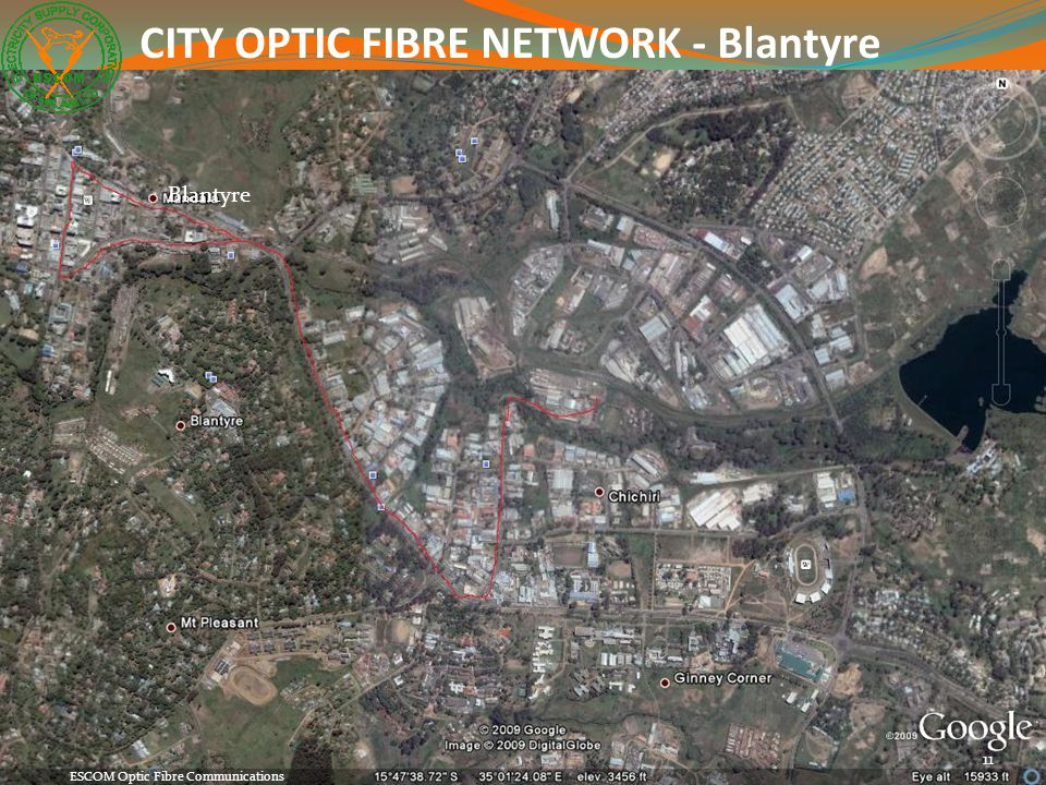 CITY OPTIC FIBRE NETWORK - Blantyre