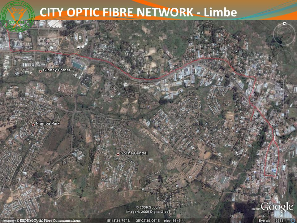 CITY OPTIC FIBRE NETWORK - Limbe