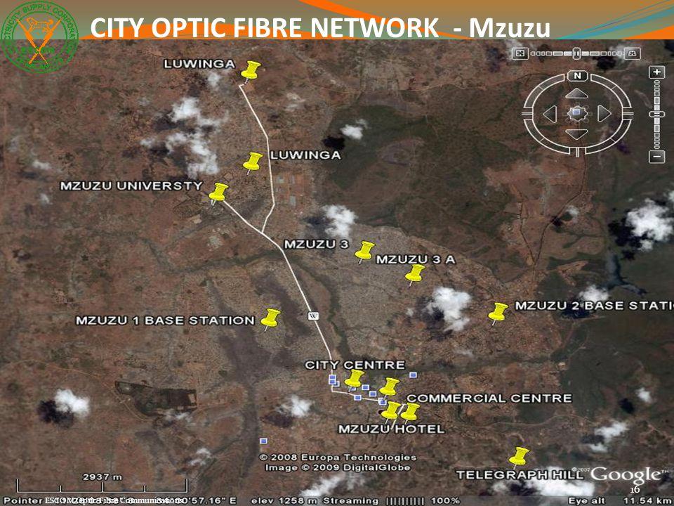 CITY OPTIC FIBRE NETWORK - Mzuzu