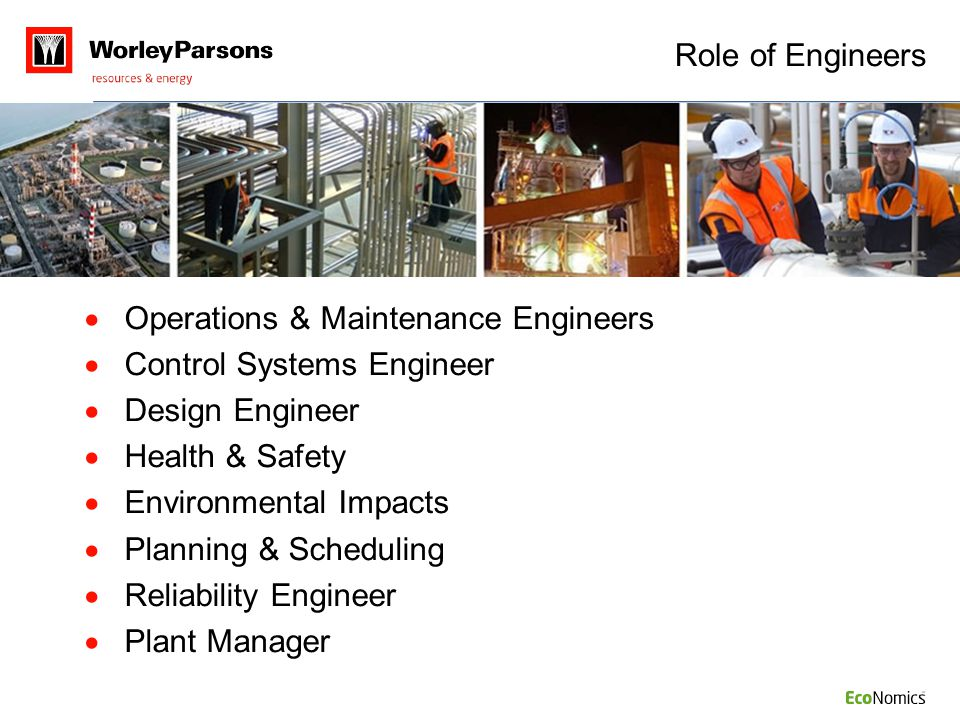 Operations & Maintenance Engineers Control Systems Engineer