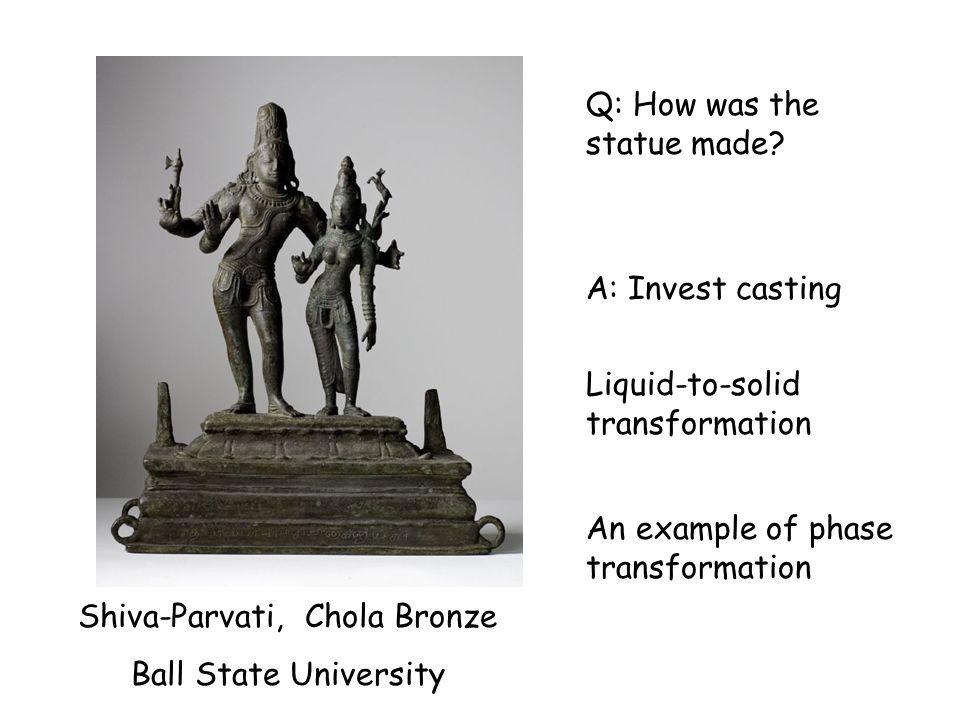 Shiva-Parvati, Chola Bronze