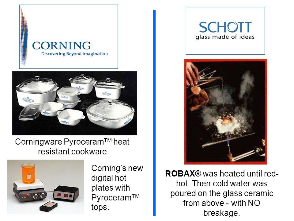 Corningware PyroceramTM heat resistant cookware