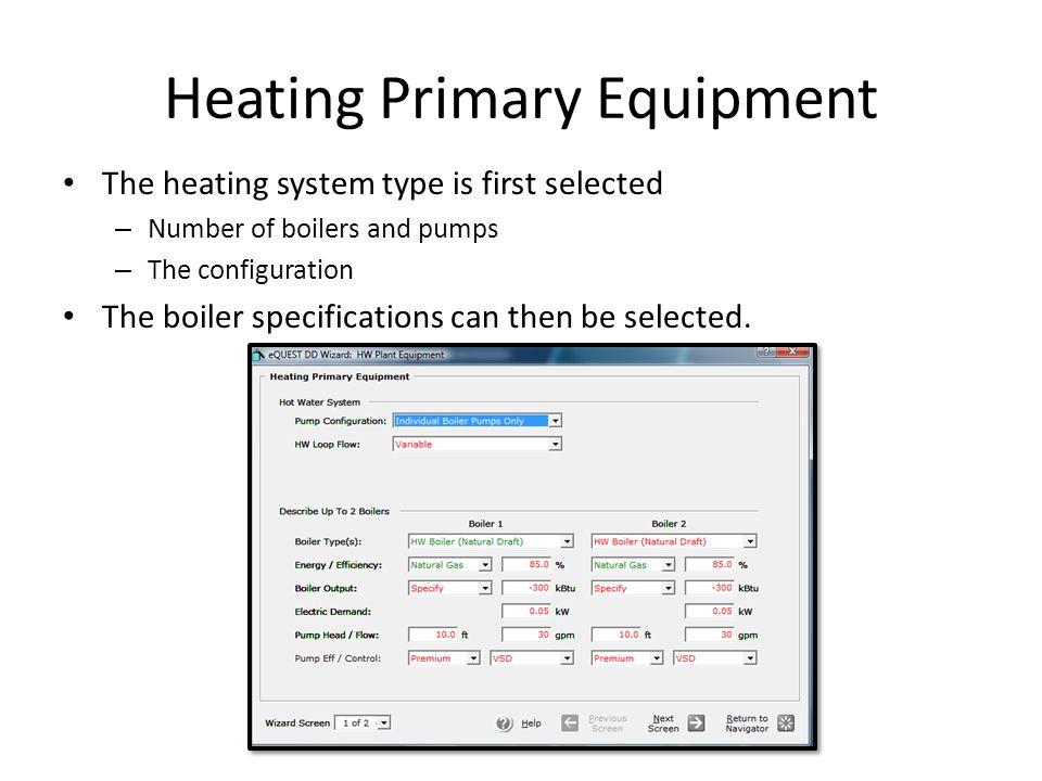Heating Primary Equipment