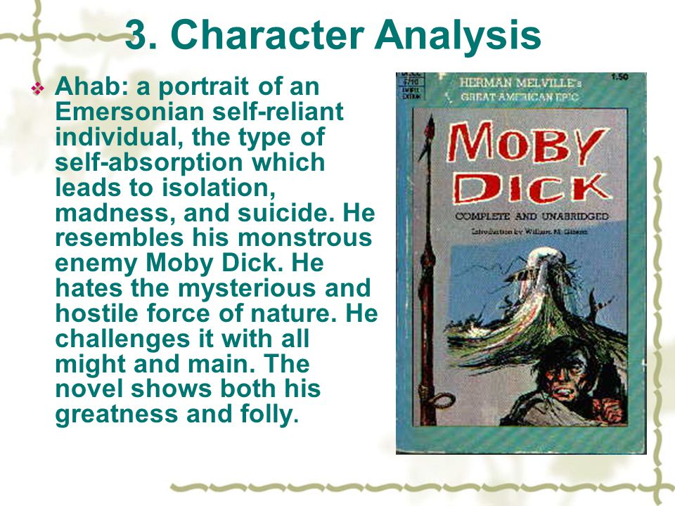 3. Character Analysis