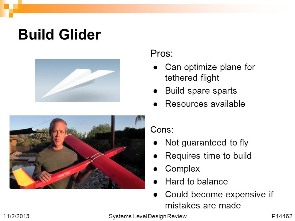 Build Glider Pros: Can optimize plane for tethered flight