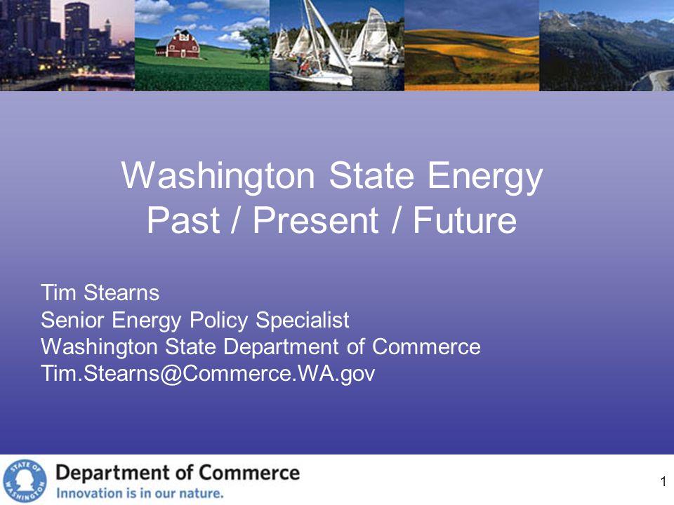 Washington State Energy Past / Present / Future