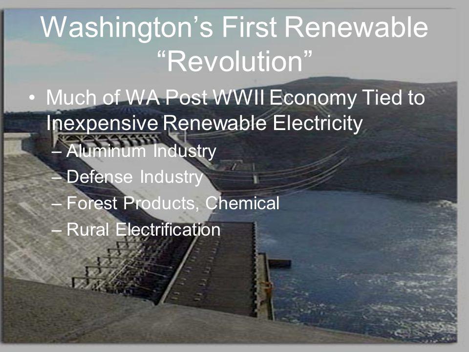 Washington's First Renewable Revolution