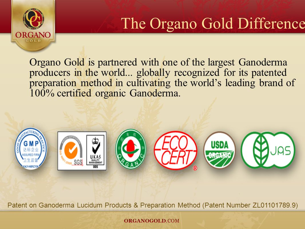 The Organo Gold Difference