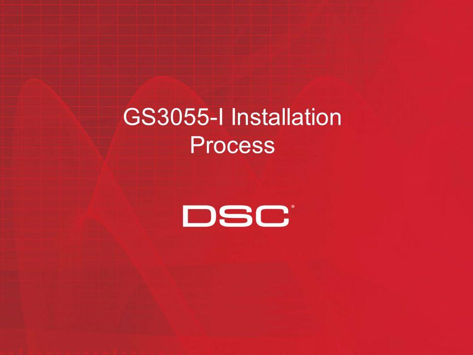 GS3055-I Installation Process