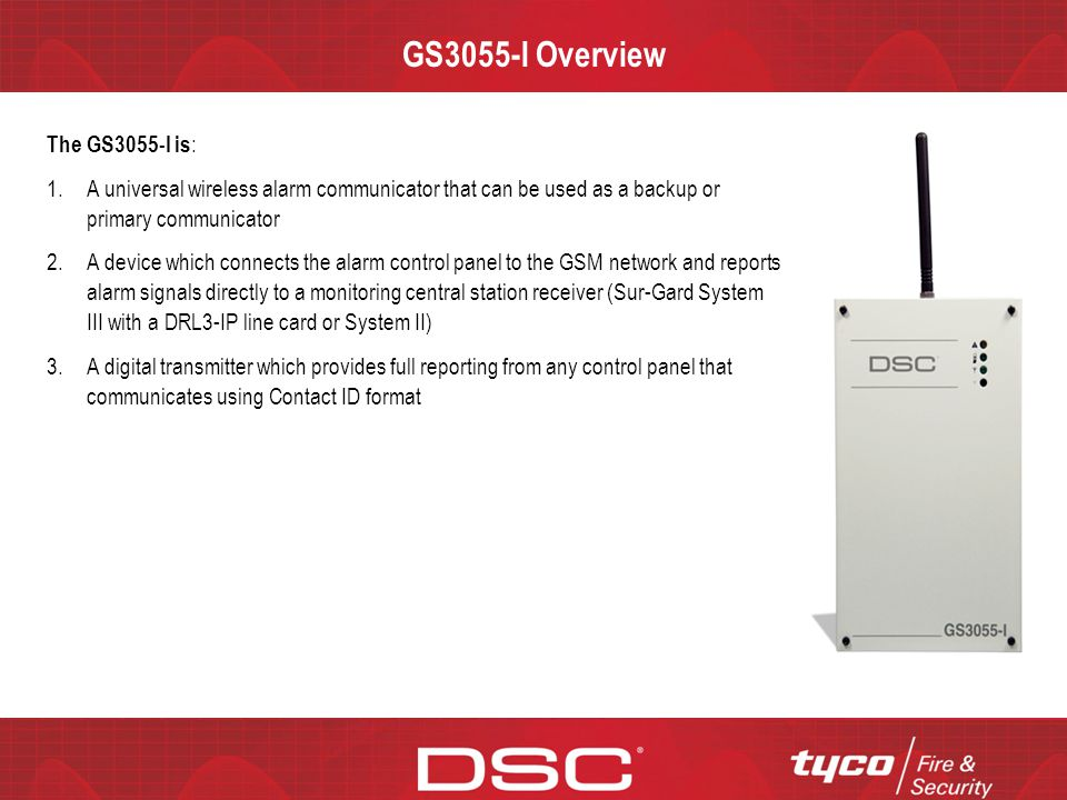 GS3055-I Overview The GS3055-I is: