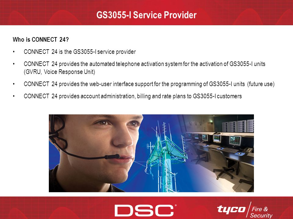 GS3055-I Service Provider Who is CONNECT 24