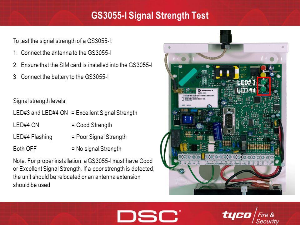 GS3055-I Signal Strength Test