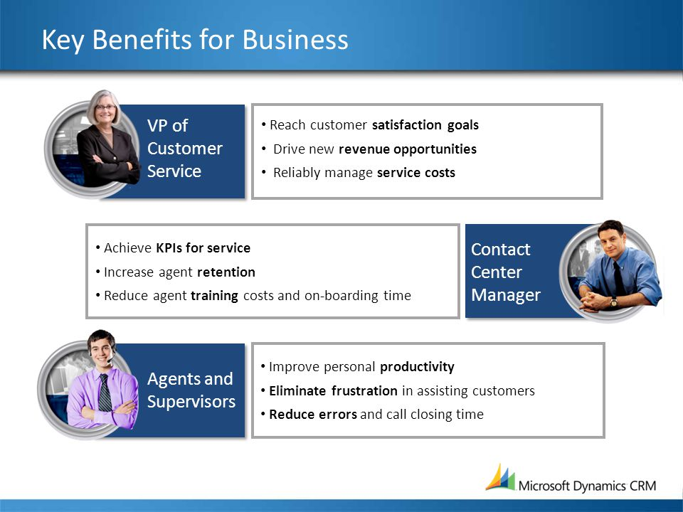 Key Benefits for Business