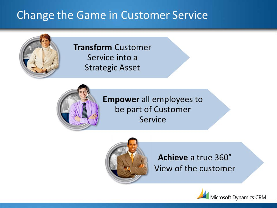 Change the Game in Customer Service