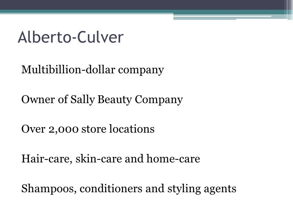 Alberto-Culver