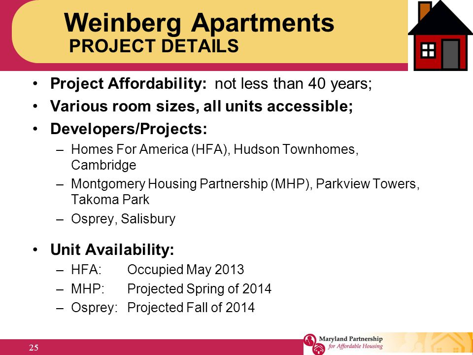 Weinberg Apartments PROJECT DETAILS