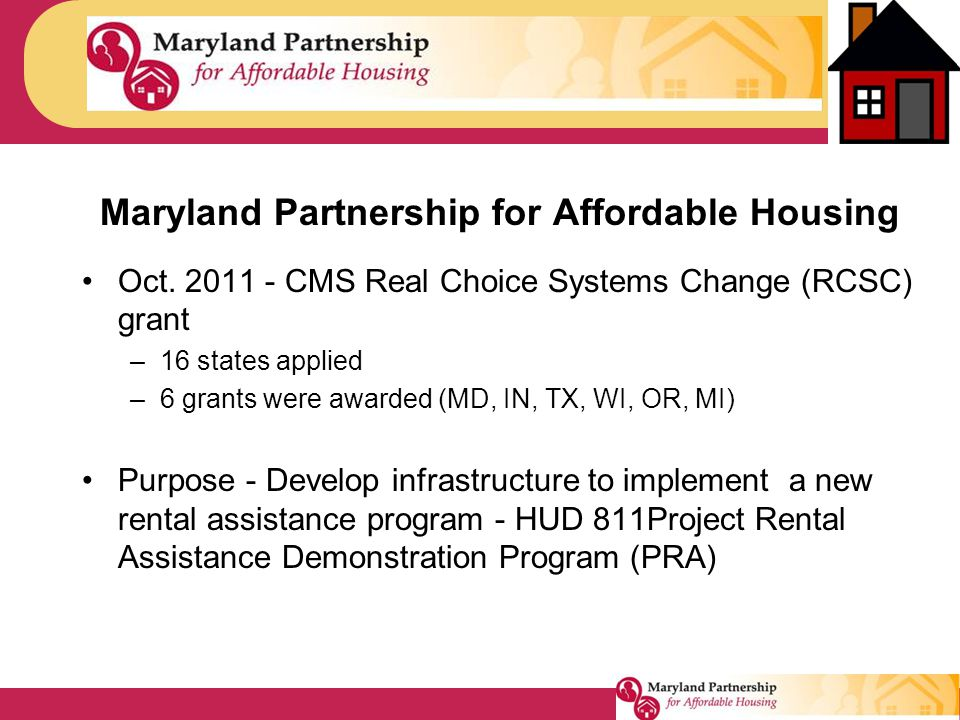 Maryland Partnership for Affordable Housing