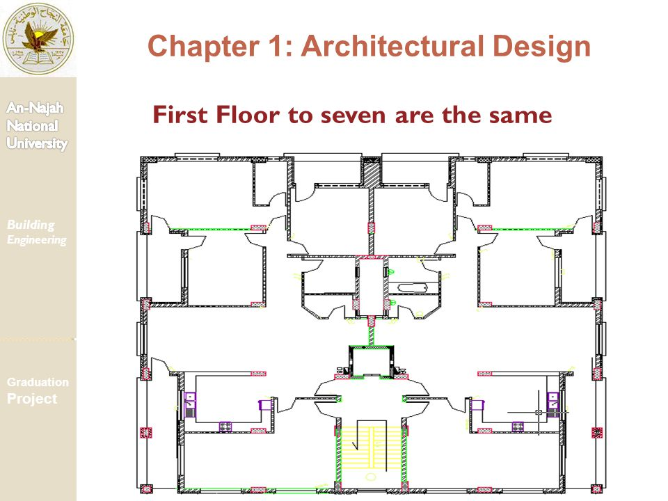 First Floor to seven are the same