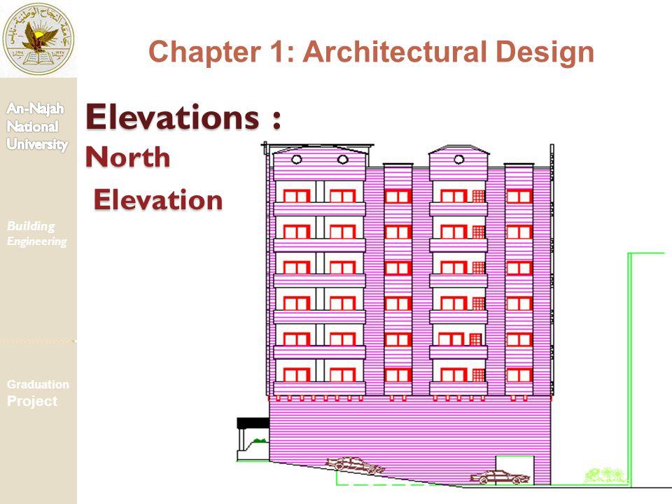 Elevations : North Elevation