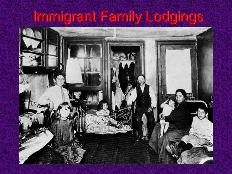 Immigrant Family Lodgings
