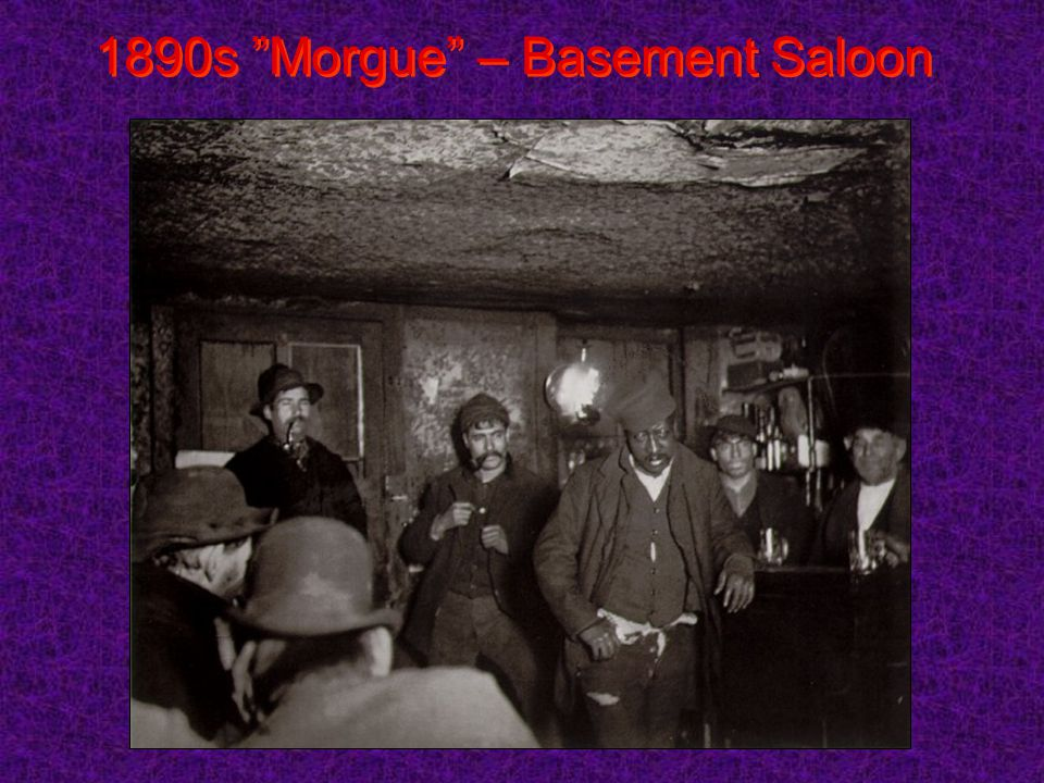 1890s Morgue – Basement Saloon