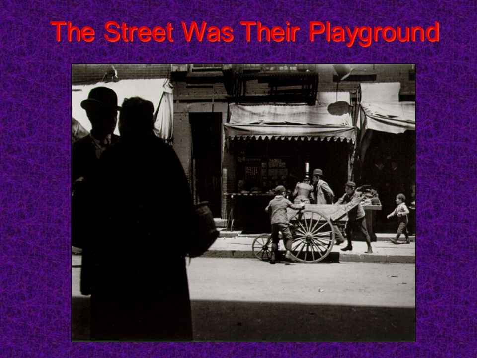 The Street Was Their Playground
