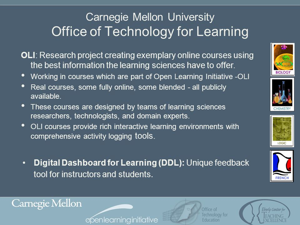 Carnegie Mellon University Office of Technology for Learning