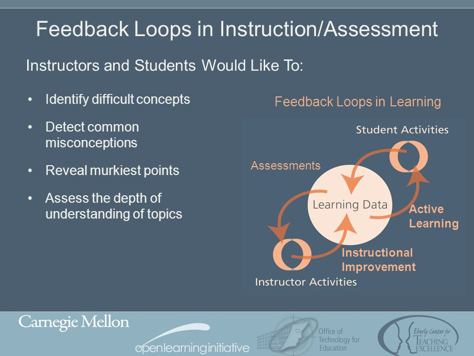 Feedback Loops in Instruction/Assessment