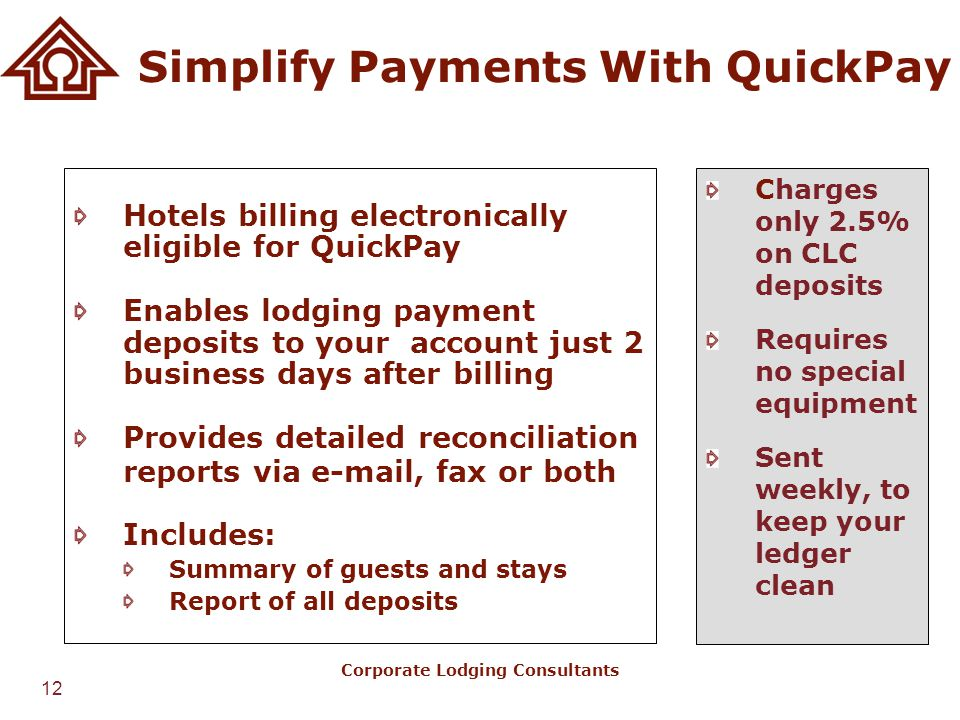 Simplify Payments With QuickPay