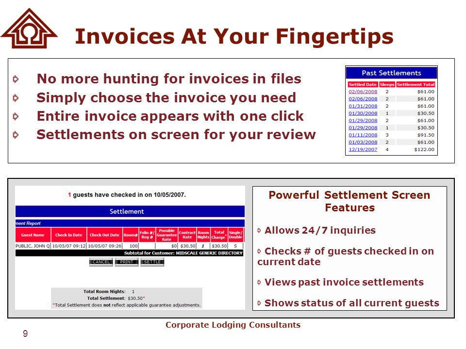 Invoices At Your Fingertips