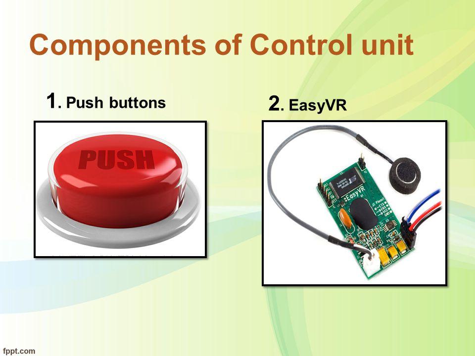 Components of Control unit