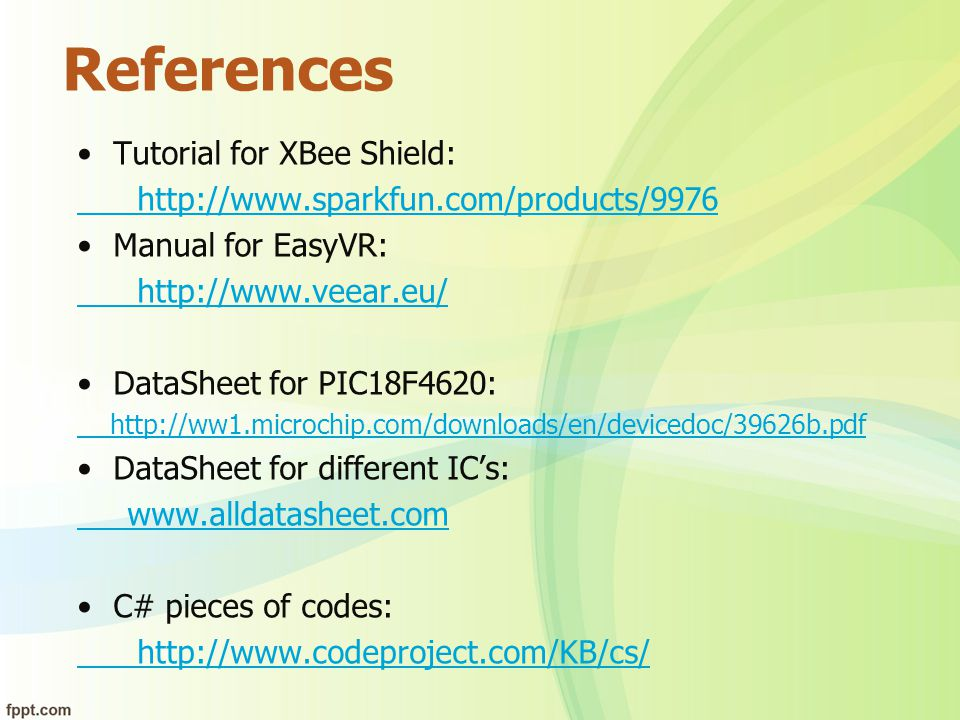 References Tutorial for XBee Shield: