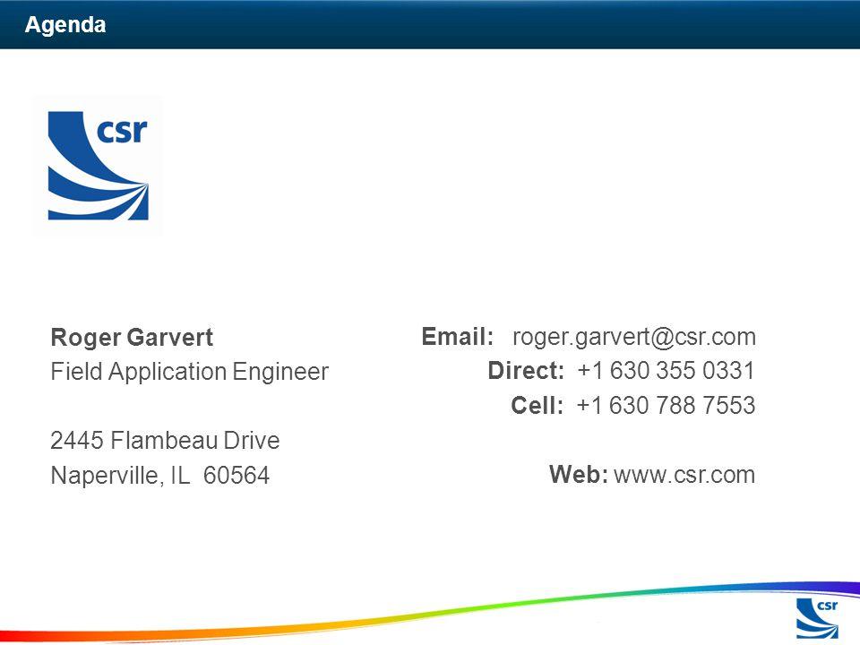 Field Application Engineer 2445 Flambeau Drive Naperville, IL 60564